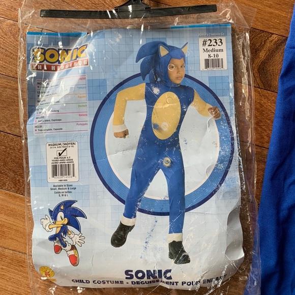 Rubie S Costumes Kids Halloween Costume Sonic The Hedgehog Size M Poshmark